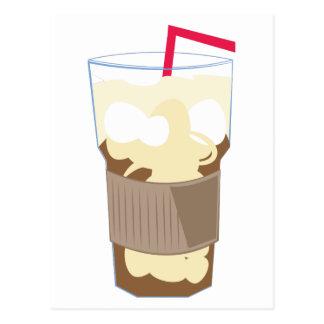 Iced Coffee Postcard
