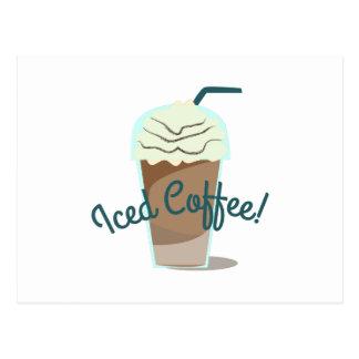 Iced Coffee Post Card