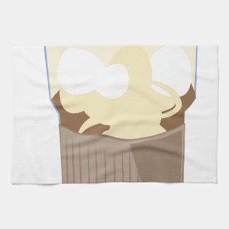 Iced Coffee Hand Towel