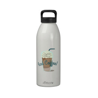 Iced Coffee Drinking Bottle