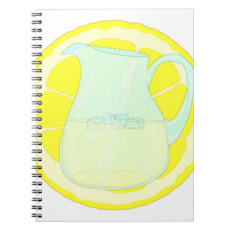 Iced Cold Lemonade Notebook. Notebooks