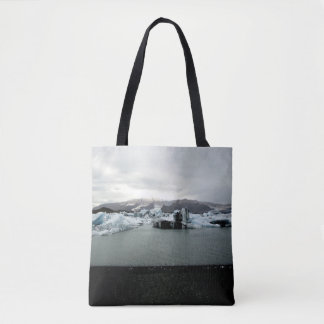 Iced Cooly - Iceland Landscape - Tote farrowed