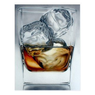 Iced Drink Postcard