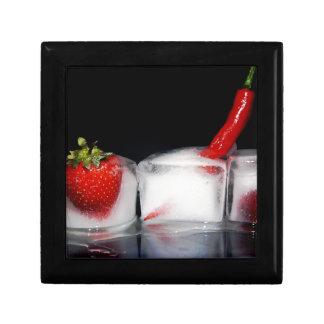 Iced food gift box