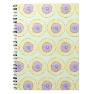Iced Gem Biscuit Notepad - Mint Green Notebooks