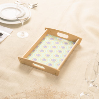 Iced Gem Biscuit Serving Tray - Mint Green