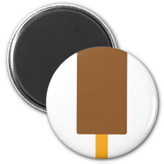 iced-lolly icon 6 cm round magnet