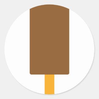 iced-lolly icon round sticker