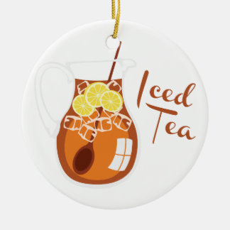 Iced Tea Christmas Ornament