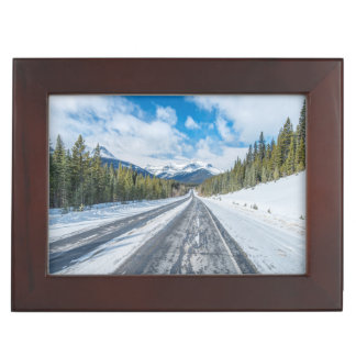 Icefields Parkway Keepsake Box