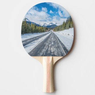 Icefields Parkway Ping Pong Paddle