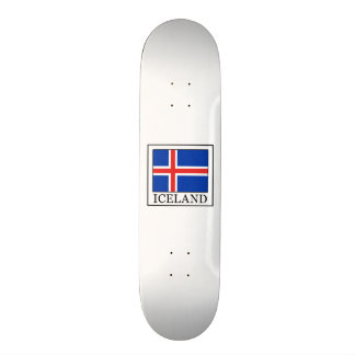 Iceland 19.7 Cm Skateboard Deck