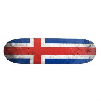 Iceland 21.6 Cm Old School Skateboard Deck