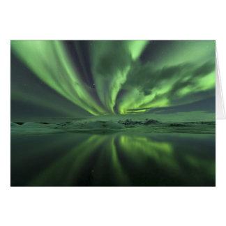 Iceland Aurora The Northern Lights Greeting Card