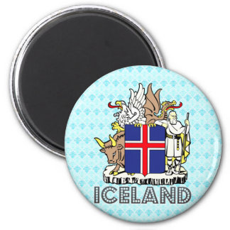 Iceland Coat of Arms Magnet