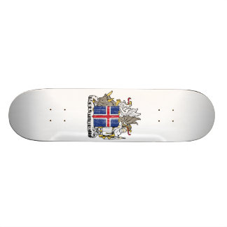 Iceland Coat Of Arms Skate Deck