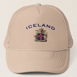 Iceland Coat of Arms Trucker Hat