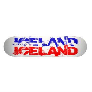Iceland colours skate board decks