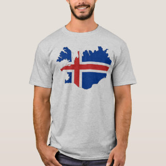 Iceland country flag T-Shirt