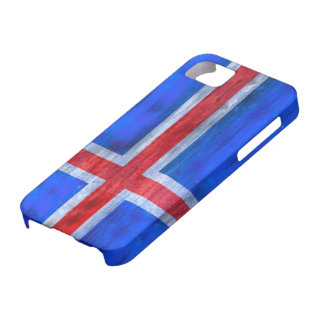Iceland distressed Icelandic  flag iPhone 5 Cases