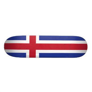 Iceland Flag 20 Cm Skateboard Deck