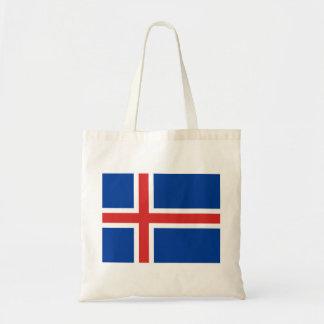 Iceland Flag Canvas Bag
