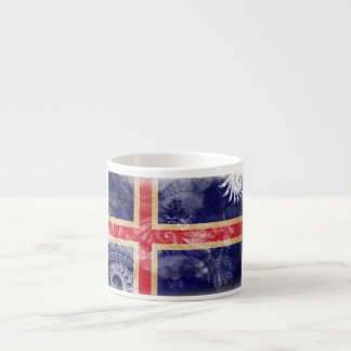 Iceland Flag Espresso Cup