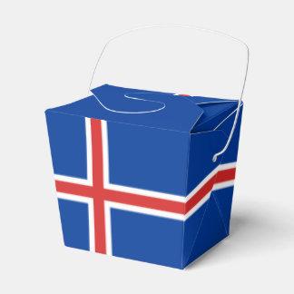 Iceland Flag Favour Box
