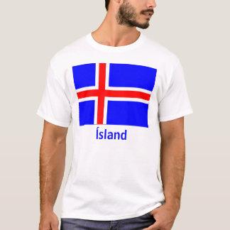 iceland-flag, Ísland T-Shirt