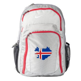 Iceland Flag/Map Backpack