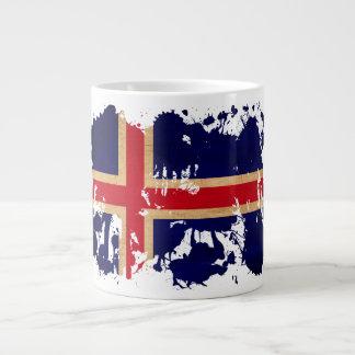 Iceland Flag Extra Large Mug