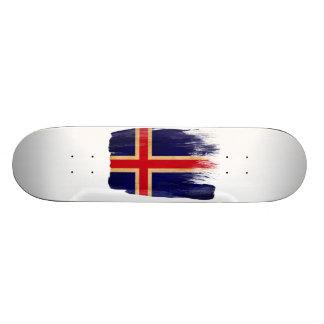 Iceland Flag Skateboard