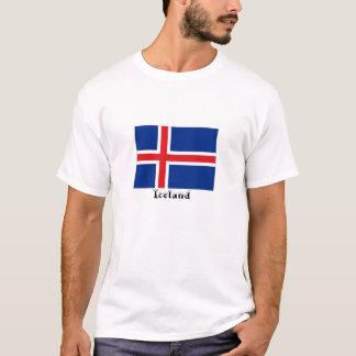 Iceland flag souvenir tshirt