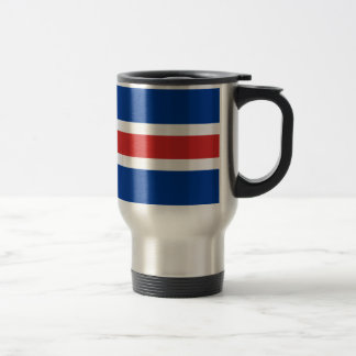 Iceland Flag Travel Mug