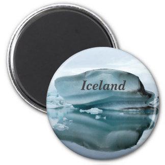 Iceland Glaciers 6 Cm Round Magnet