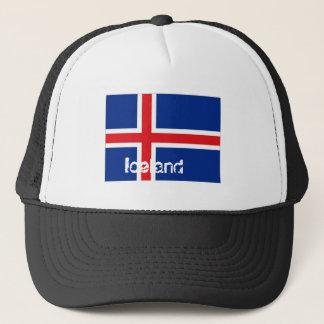 Iceland icelandic flag souvenir hat