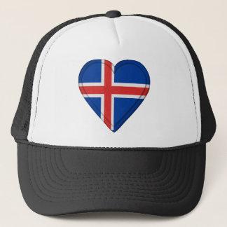 Iceland Icelandic Flag Trucker Hat