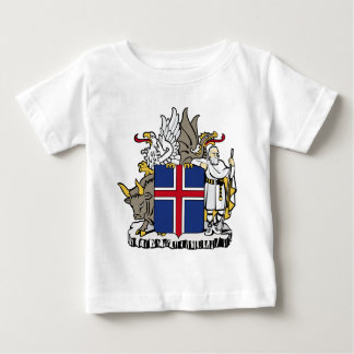 Iceland IS Ísland Coat of arms Baby T-Shirt