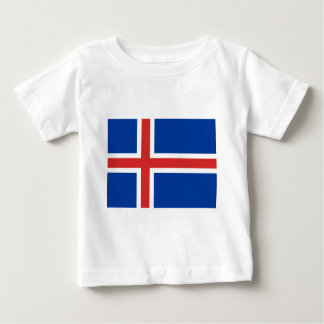 Iceland IS Ísland Flag Baby T-Shirt