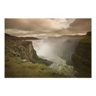 Iceland Jokulsargljufur National Park Photo Art