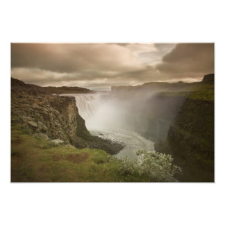 Iceland, Jokulsargljufur National Park. Photo Print