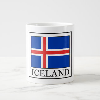 Iceland Large Coffee Mug