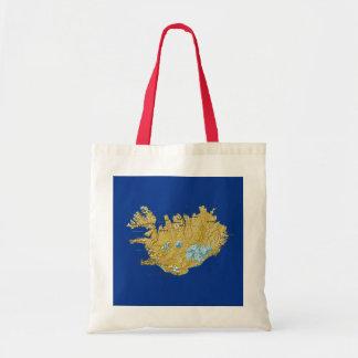 Iceland Map Bag