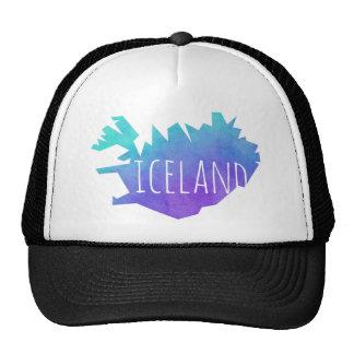 Iceland Map Cap