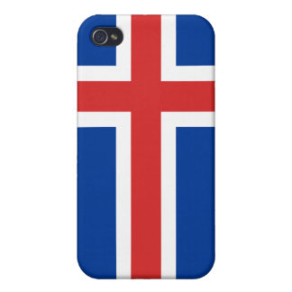 Iceland National Nation Flag  iPhone 4 Cover