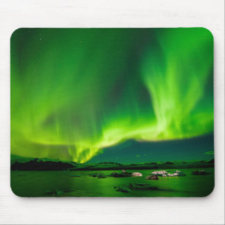 Iceland Northern Lights Mouse Mat