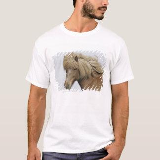 Iceland. Portrait of an Icelandic horse. T-Shirt