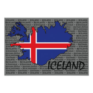 Iceland Poster