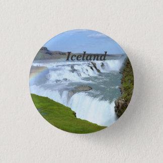 Iceland Rainbows 3 Cm Round Badge