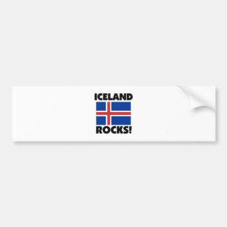 Iceland Rocks Bumper Sticker